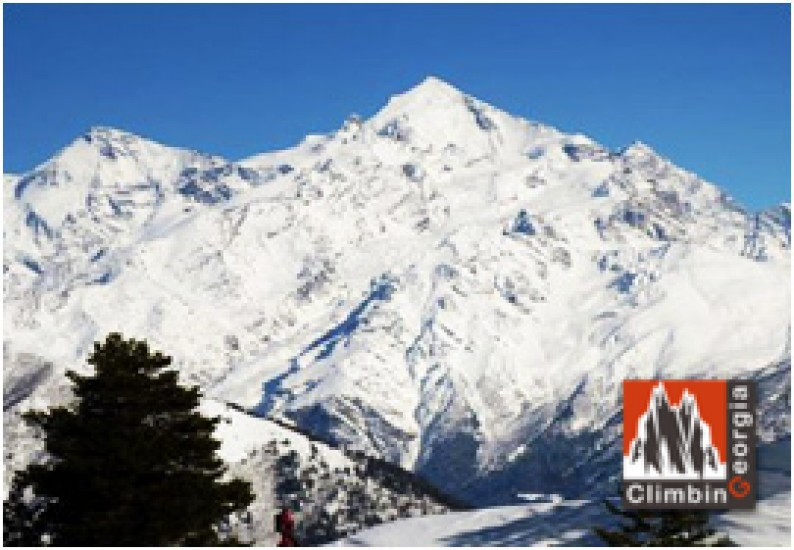 Ski touring in Adishi