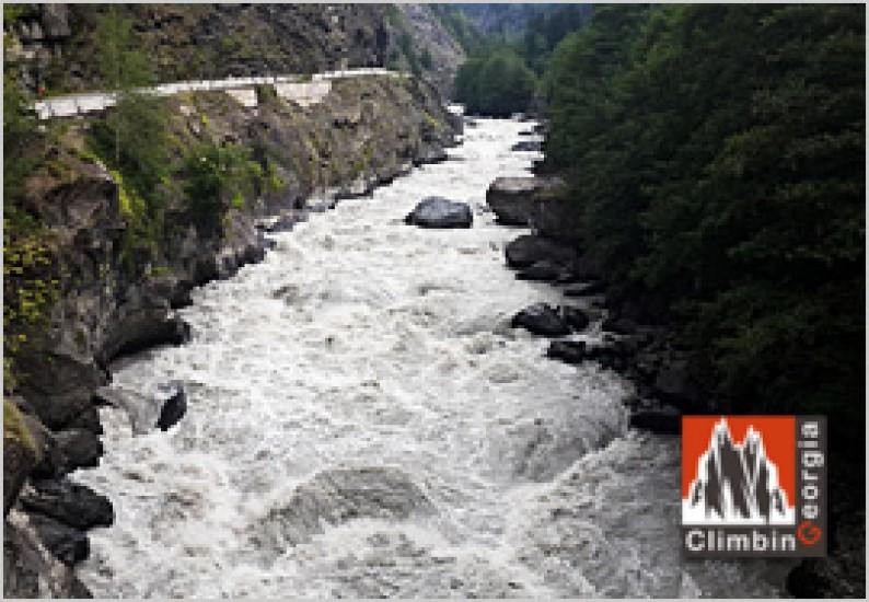 River in MEstia