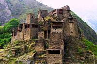 Itinerary for trekking in Caucasus east region