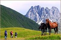 Tusheti Khevsureti Khevi trekking program