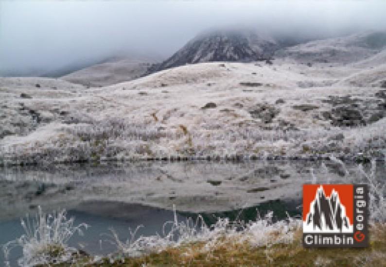 Lake in Chaukhi