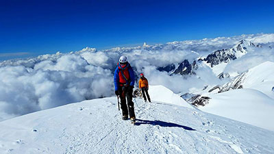 itinerary for Gudauri and Mt Kazbek ski touring