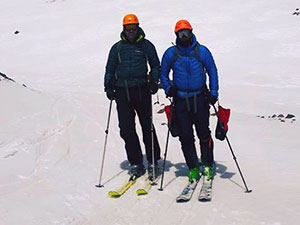 Ski touring program in Armenia. Georgia and Russia . on Mt Aragats Mt Kazbek and Mt Elbrus