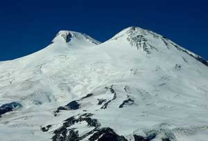 Itinerary for Highest peak of Caucasus mountains on Mt Elbrus. Open groups on fixed dates.