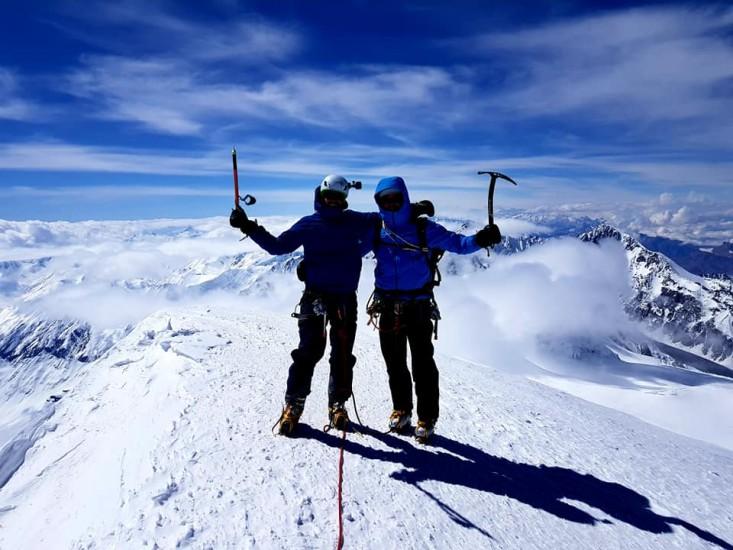 On Summit Kazbek